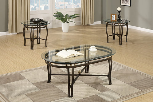 F3093 3Pc Coffee Table Set