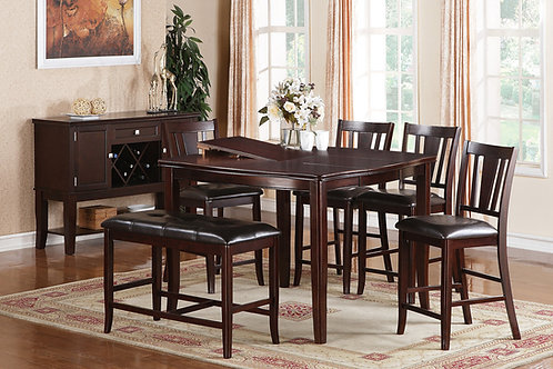 F2329 6Pc CH Dining Set
