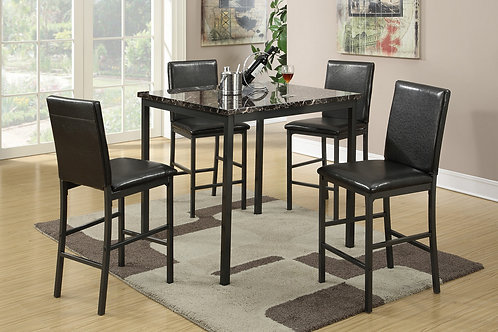F2354 5Pc CH Dining Set