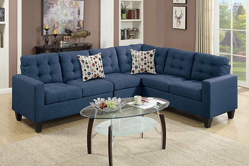 F6938 4Pcs Sectional Navy