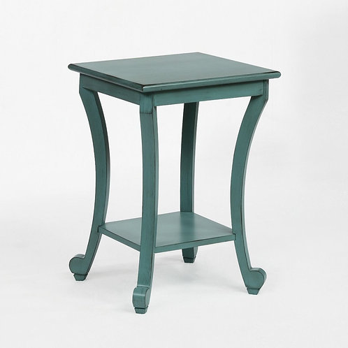 Claire Aqua Chairside Table