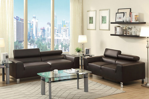 F7264 2Pc Sofa & Loveseat