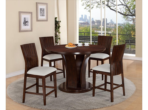 Daria WH CH Dining Set