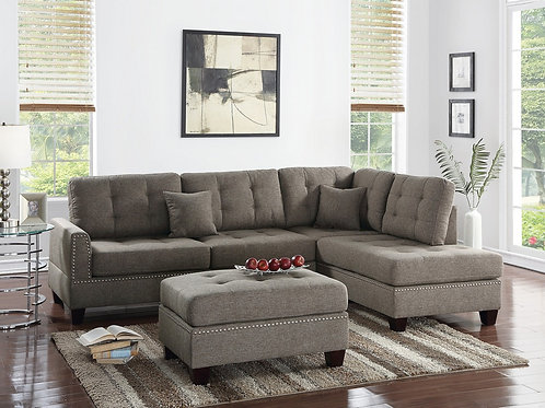 F6504 3Pcs Sectional Coffee