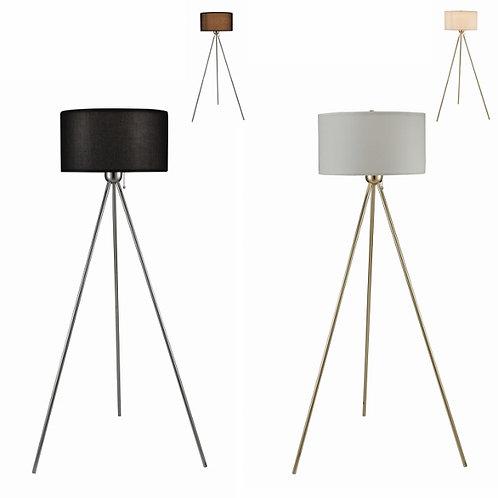 Floor Lamp Chrome/Gold