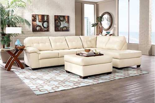 Simmons Sectional 9569 Pearl