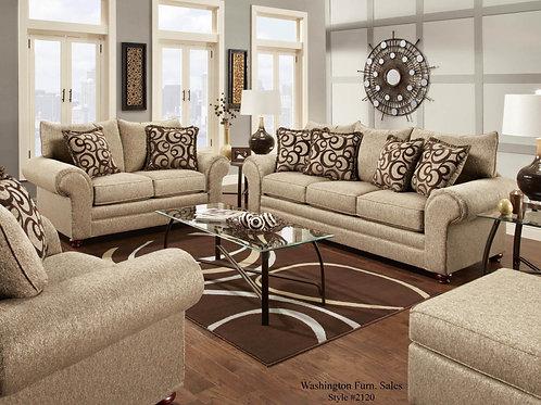 Washington 2120 Sofa & Loveseat