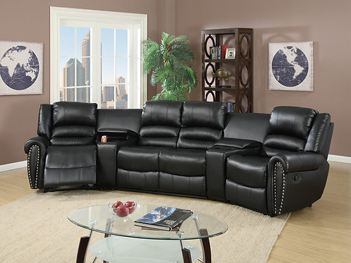 F6747 5Pc Reclining Sectional