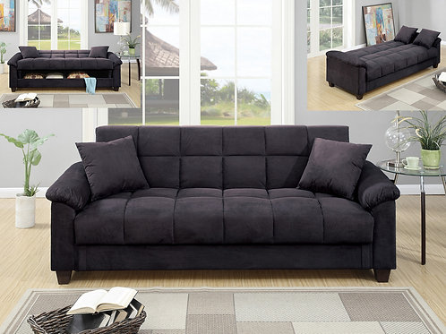 F7888 Ebony Adjustable Sofa