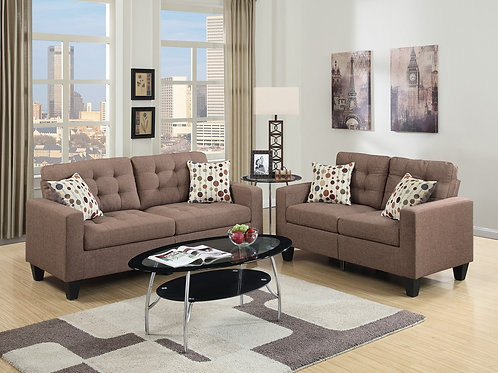 F6904 2Pc Sofa & Loveseat w/4 Pillows