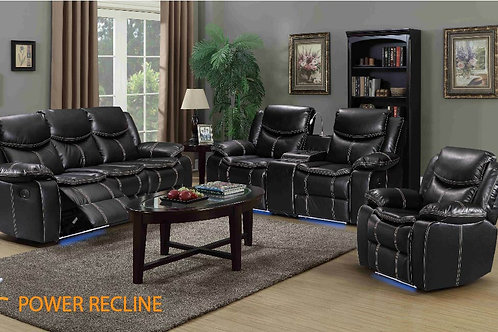 3Pc Evolution Power Reclining Set