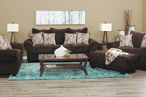1000 Chocolate Sofa & Loveseat