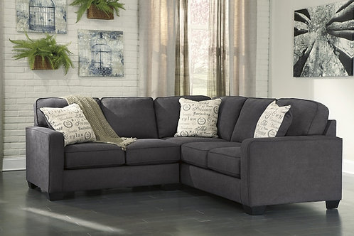 Ashley Sectional 166 Charcoal