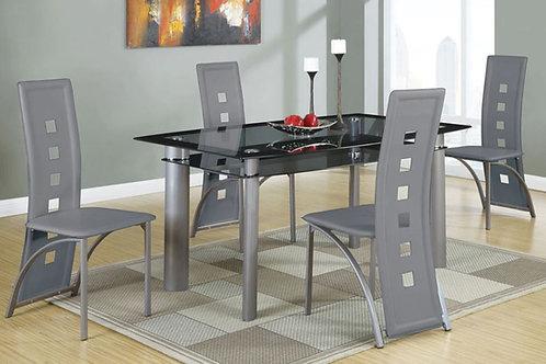 F2212 Grey 5Pc Dining Set