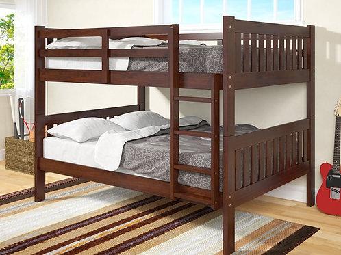 1015 Full over Full Bunk Bed