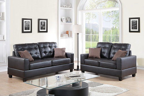 F7857 2Pc Sofa & Loveseat w/4 Pillows