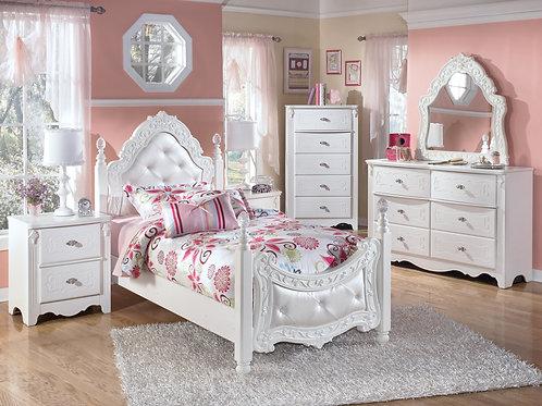 5Pc Ashley B188 Twin Bedroom Set