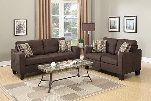 F6923 2Pc Sofa & Loveseat w/4 Pillows