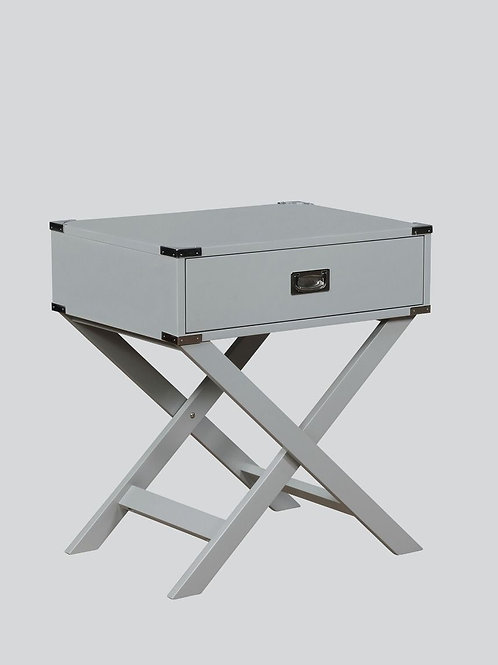 Hudson Gy Chairside Table