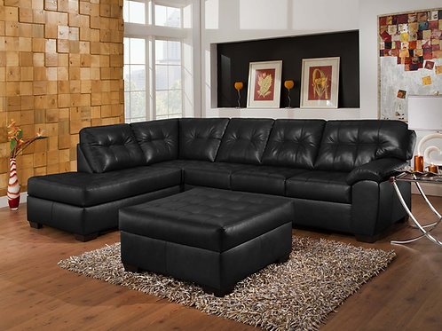 Simmons Sectional 9569 Onyx