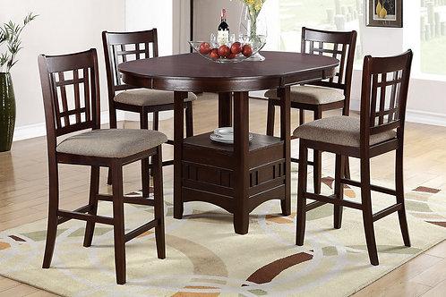 F2345 5Pc CH Dining Set