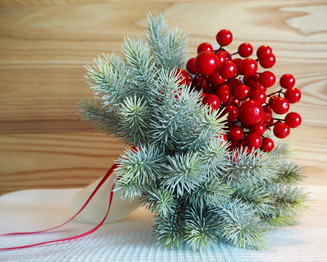 December 20th - Nordic country-chic table for Christmas