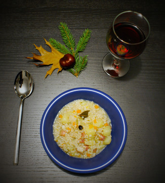 Gerstsuppe, Zuppa d'orzo tradizionale - Traditional barley soup