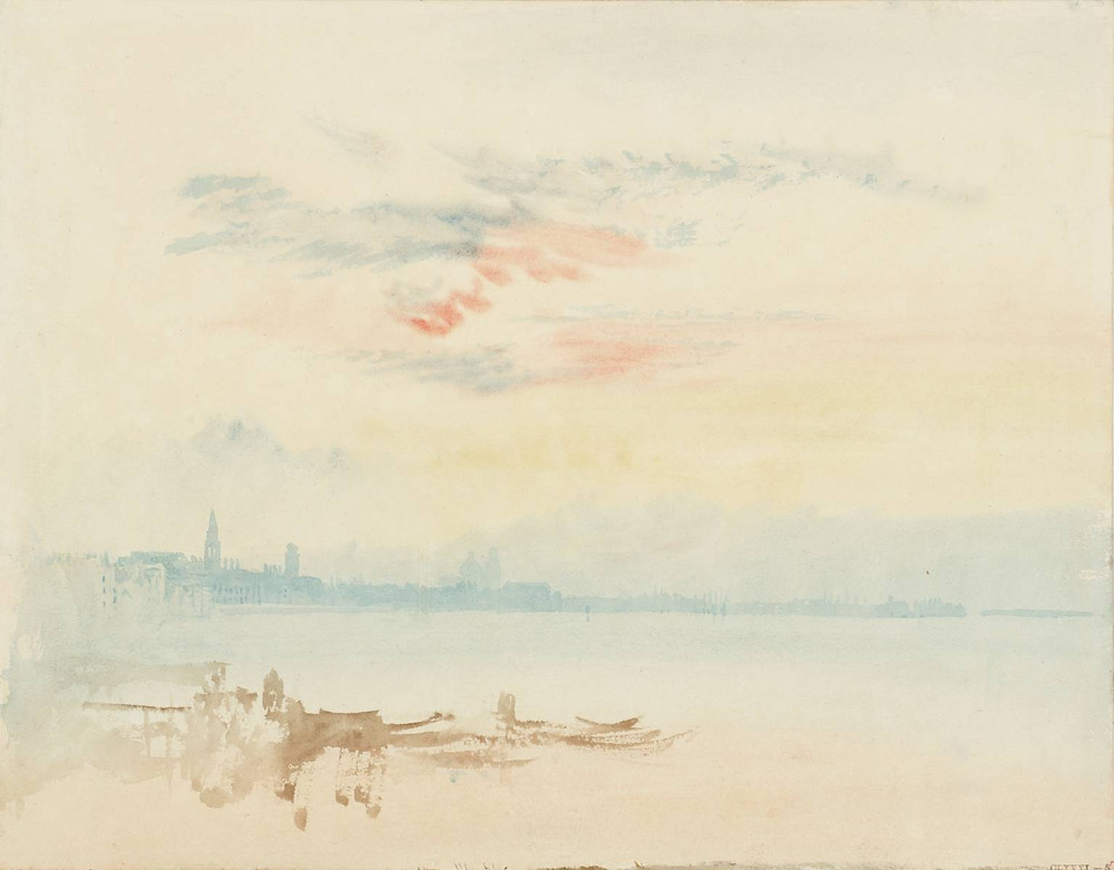 JMW Turner_Venice_Looking East towards San Pietro di Castello_Early Morning_1819