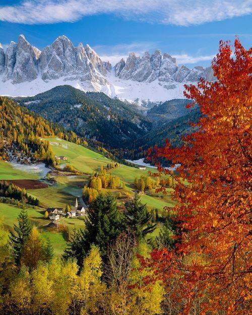 Italy Art & Architecture_Val di Funes/Villnöss Valley
