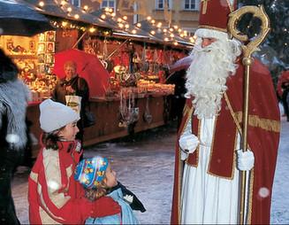 December 5th – Sankt Nikolaus and the Krampus