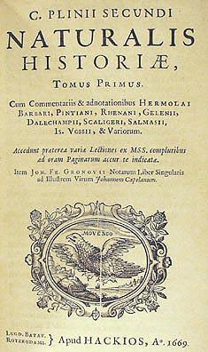Naturalis Historia, ed. 1669