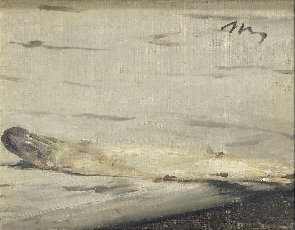 E.Manet, L'asparago