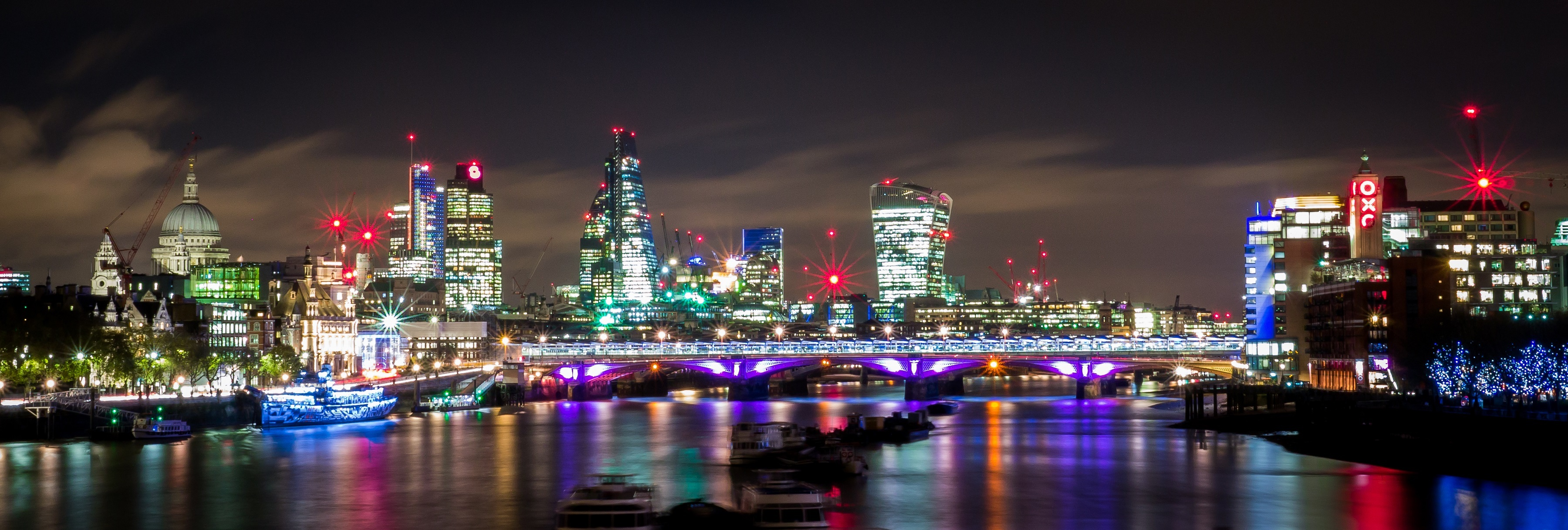 London nightscene