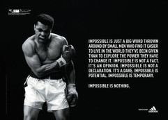 Power of Boxing - Ali Quote