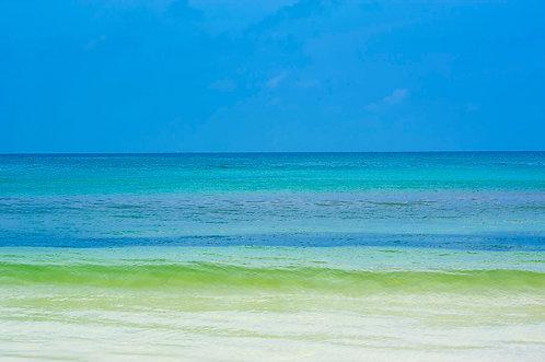 Mar Verde e Azul