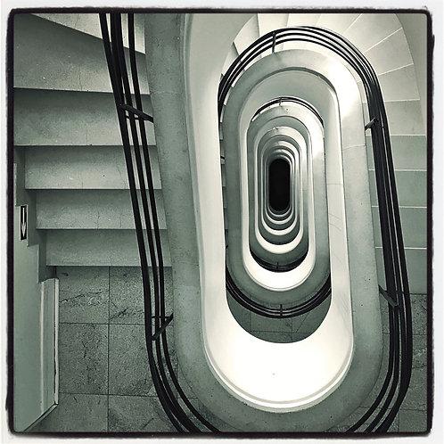 Escadaria Oval
