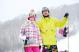 石狩平原スキー場ゲレンデ