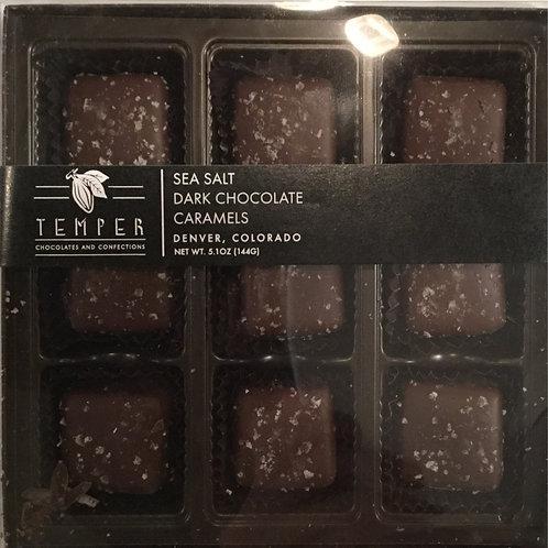 Boxed Sea Salt Caramels