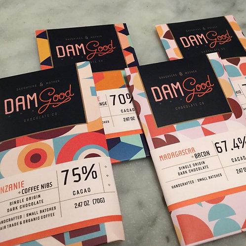 DAM Good Chocolate Bars