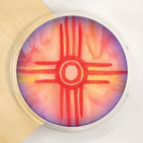 Round Lucite Tray - 3231S