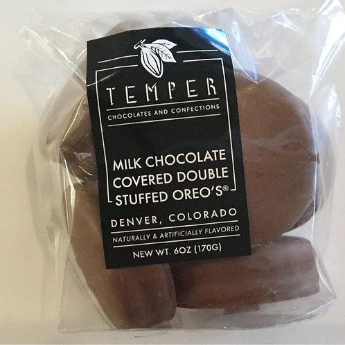 Milk Chocolate Covered Double Stuffed Oreos