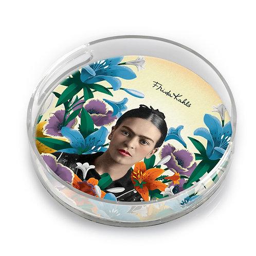 Frida Round Lucite Tray - F5753