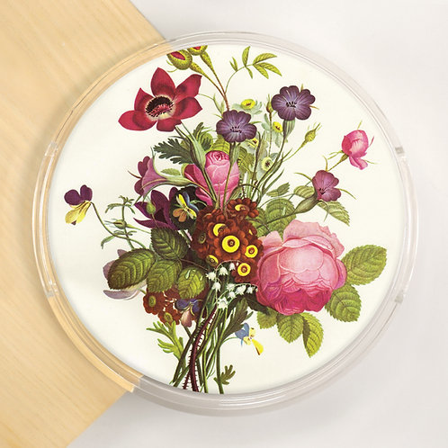 Round Lucite Tray - 5600S