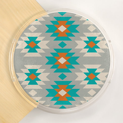 Round Lucite Tray - 5514S