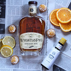 WhistlePig 10 Year Old Fashioned Cocktail Cupcakes