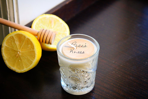 Shot Glass Tealight; Bee's Knees