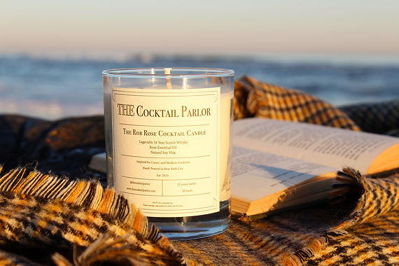 Rob Rose Cocktail Candle