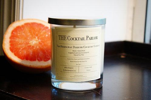 Hemingway Daiquiri Cocktail Candle