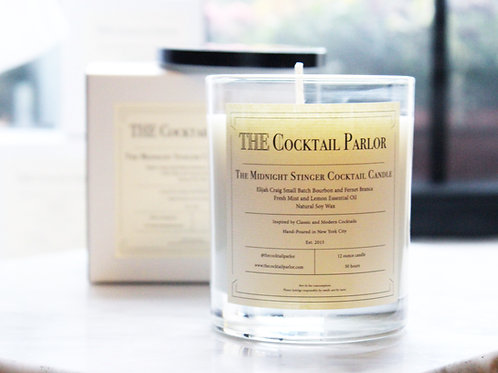 Midnight Stinger Cocktail Candle