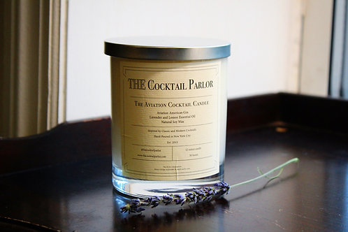 Aviation Cocktail Candle